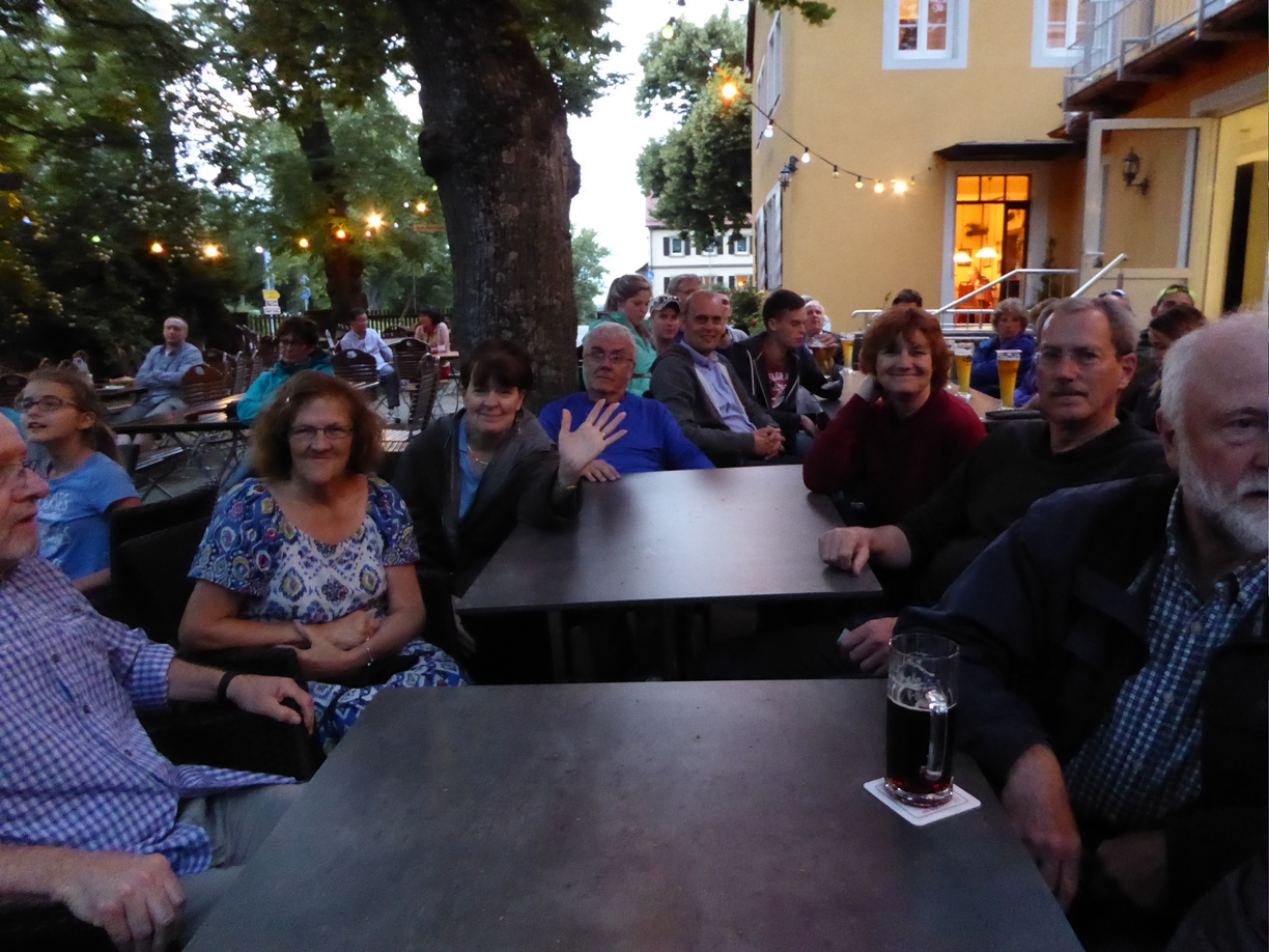Rothenburg Biergarten